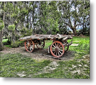 Need Horsepower Metal Print by Douglas Barnard