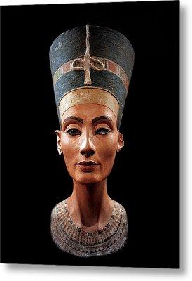 Nefertiti  Metal Print by Egyptian School