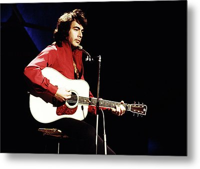 Metal Print featuring the photograph Neil Diamond 1971 by Chris Walter