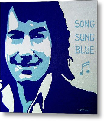 Neil Diamond Metal Print