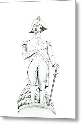 Metal Print featuring the painting Nelson by Elizabeth Lock