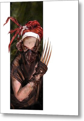 Neobedouin - Beast Dancer Metal Print by Mandem