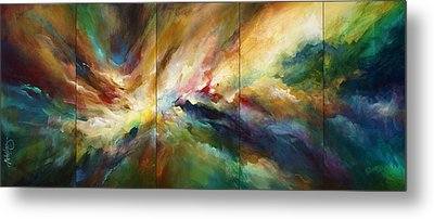 'neptunes Pass' Metal Print by Michael Lang