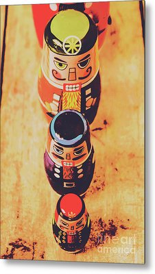 Nesting Dolls Metal Print by Jorgo Photography - Wall Art Gallery