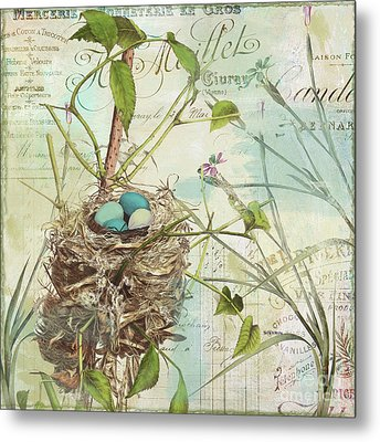 Nesting II Metal Print by Mindy Sommers