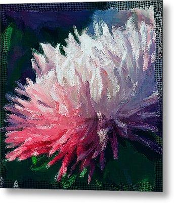 Net Flower Metal Print by Yury Malkov