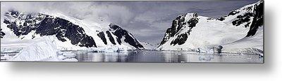 Neumeyer Channel - Antarctica Metal Print