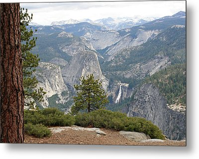 Metal Print featuring the photograph Nevada Falls by Lynn Bawden