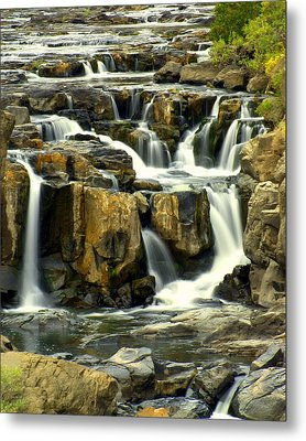Nevada Falls Metal Print by Marty Koch