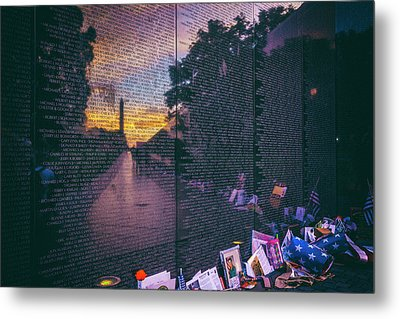Metal Print featuring the photograph Never Forget by Edward Kreis