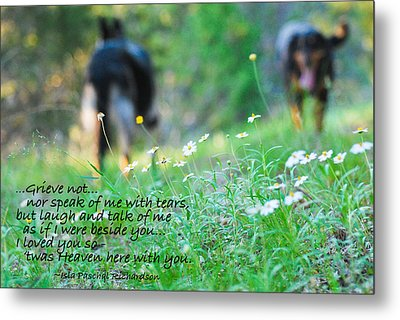 Never Forgotten Metal Print by Barbara Shallue