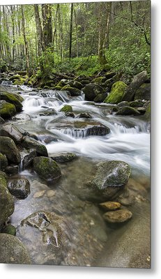 Never Stops Metal Print by Jon Glaser