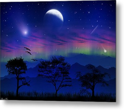 Metal Print featuring the photograph Neverending Nights by Bernd Hau