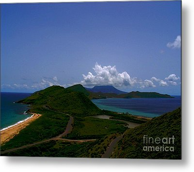 Metal Print featuring the photograph Nevis II by Louise Fahy