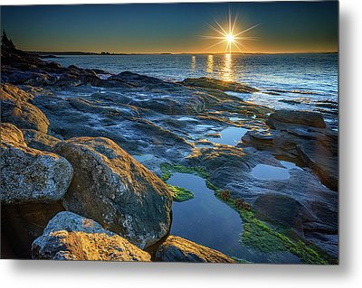 New Beginnings On Muscongus Bay Metal Print by Rick Berk