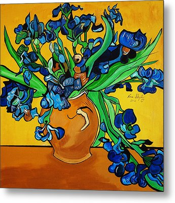 New Blue By You Metal Print by Nora Shepley
