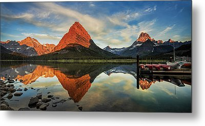 New Day Dawning Metal Print by Andrew Soundarajan