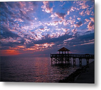 Metal Print featuring the photograph New Day Dawning by Brian Wright