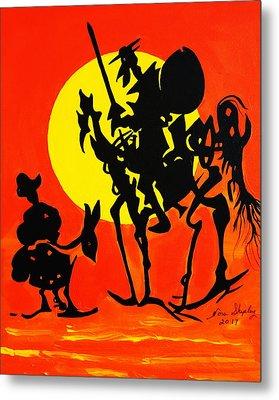 New Don Quixote Metal Print