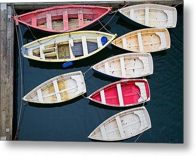 New England Boats 3  Metal Print by Emmanuel Panagiotakis