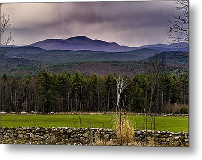 Metal Print featuring the photograph New England Spring In Oil by Mark Myhaver