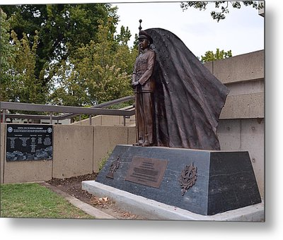 New General Vang Monument In Autumn 2015 Metal Print by James Warren