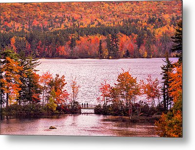 New Hampshire Fall Metal Print