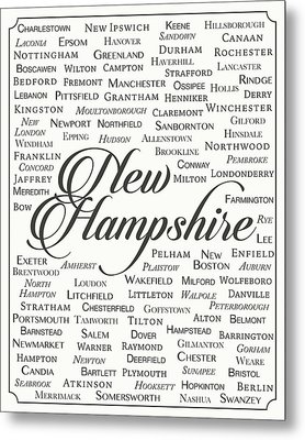 New Hampshire Metal Print by Finlay McNevin