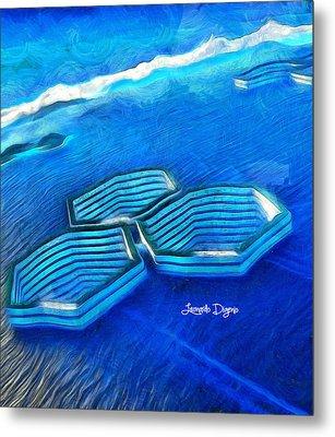 New Islands - Da Metal Print