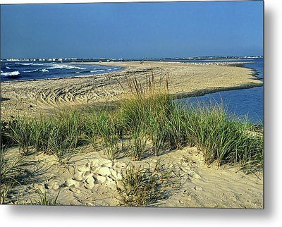 Metal Print featuring the photograph New Jersey Inlet  by Sally Weigand
