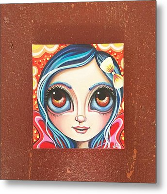 New Little Fairy! Not Sure What To Name Metal Print by Jaz Higgins