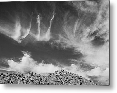 New Mexico Sky Metal Print