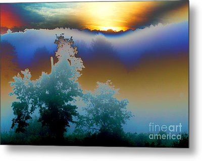 New Morning Light Metal Print by Jesse Ciazza