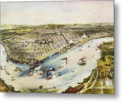 New Orleans, 1851 Metal Print by Granger