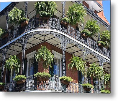 New Orleans Balcony Metal Print by Carol Groenen