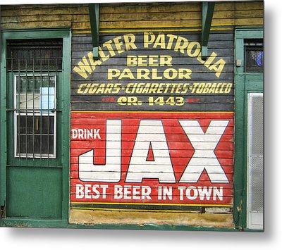 New Orleans Beer Parlor Metal Print