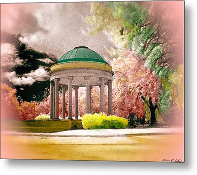 New Orleans City Park - The Bandstand Metal Print