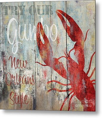 New Orleans Gumbo Metal Print by Mindy Sommers