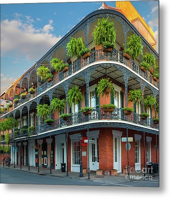New Orleans House Metal Print