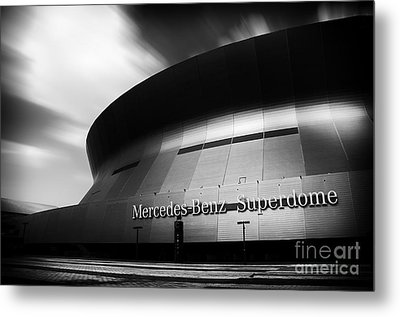 New Orleans Stadium Metal Print by Alessandro Giorgi Art Photography