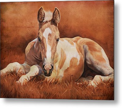 New Paint Metal Print by JQ Licensing