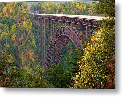 New River Gorge Bridge Metal Print by Steve Stuller