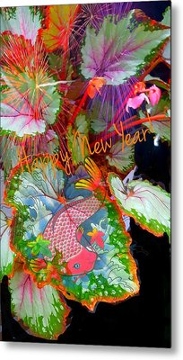 New Year Resolution  Metal Print by ARTography by Pamela Smale Williams