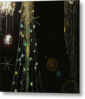 New Years At The Ritz Metal Print