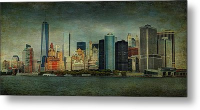 New York After Storm Metal Print
