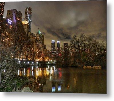 New York - Central Park 008 Metal Print by Lance Vaughn