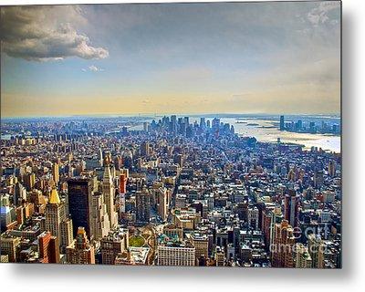 New York City - Manhattan Metal Print by Mark Dodd
