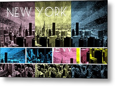 New York City 333 Metal Print