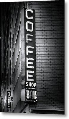 New York City Coffee House Metal Print