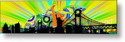 New York City Colors Metal Print by Stefano Senise